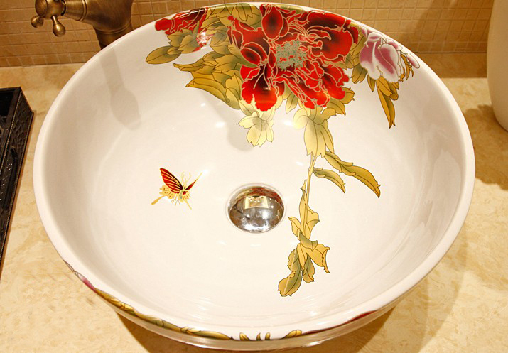 Jingdezhen Ceramic Art Decorative Bathroom Basin Sink Wash Basin In Plastic Portable Basins From Home Garden On Aliexpress Com Alibaba Group