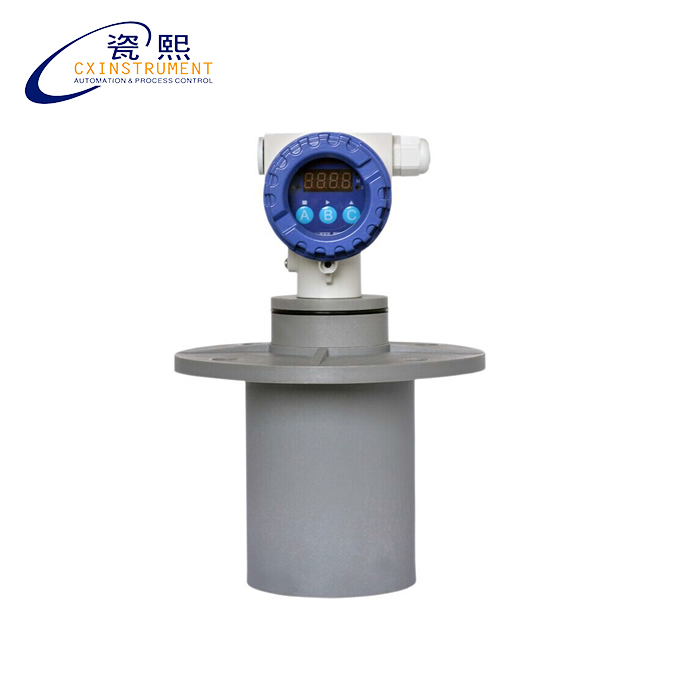 Local LCD Display 4~20 mA Output 10 meters Measuring Range 0.3% High Accuracy Explosion-Proof Ultrasonic Level Sensor