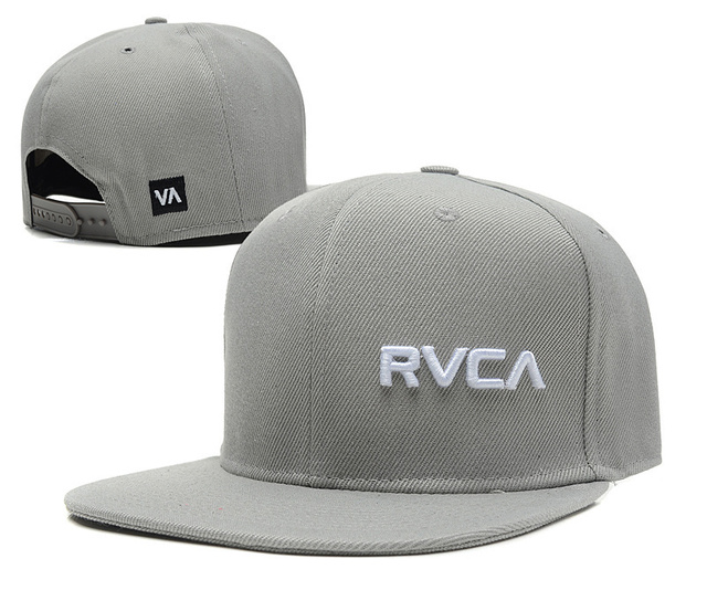 finest selection 46202 dfaee New RVCA Snapback hats caps Black Red grey white 12 different styles mens  womens classic adjustable strapback cap freeshiping