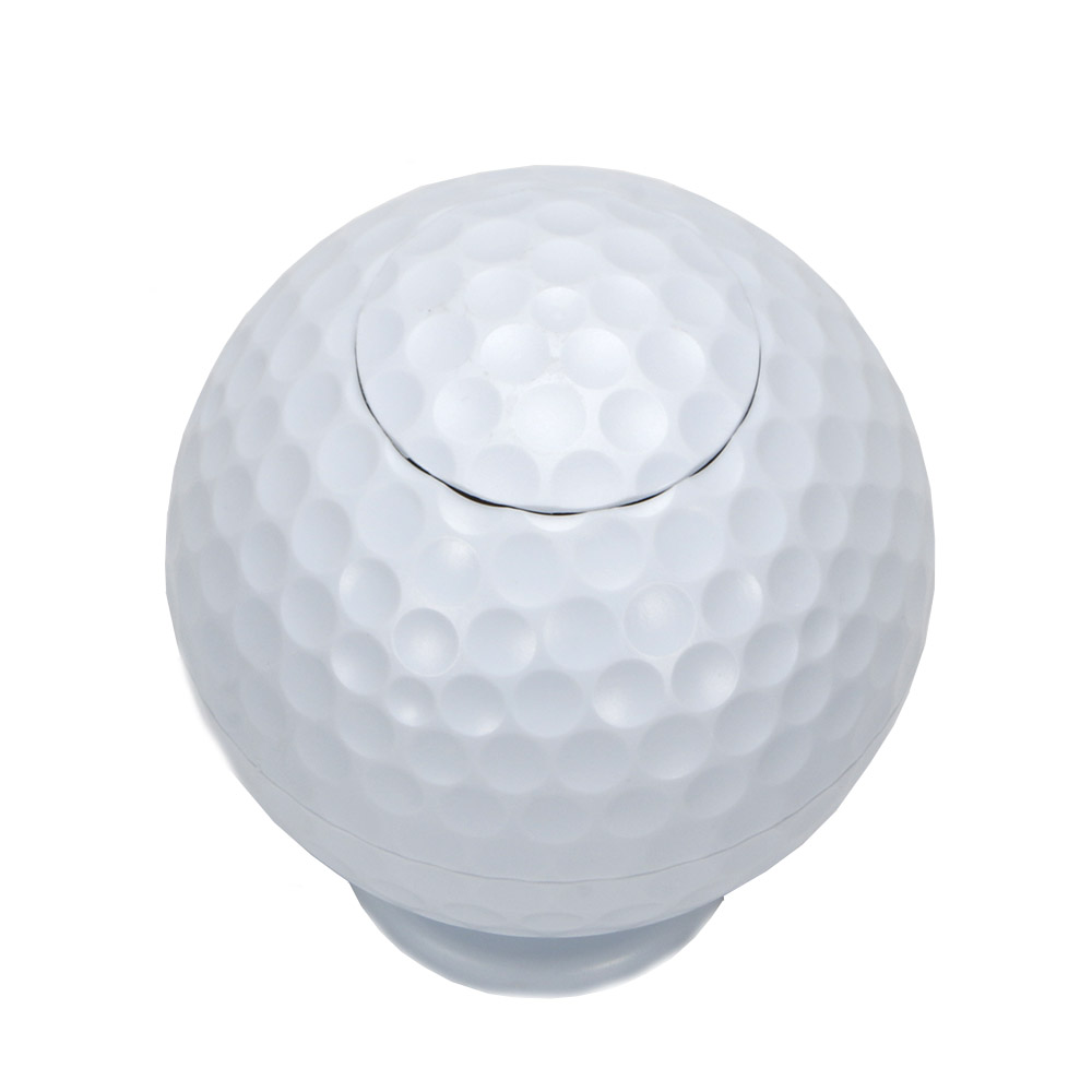 Image 2 - Golf ball Toothpick Pressing Automatic Toothpick Box Personality Portable Toothpick Bucket free shipping-in Golf Training Aids from Sports & Entertainment