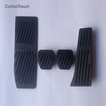 Cotochsun Car-styling Pedal Cover No drilling case For BMW 1 2 3 4 series X1 E30 E32 E34 E36 E38 E39 E46 E84 E87 E90 E91 E92 E93 image
