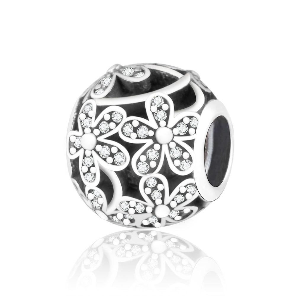 Original Beads: Fit Original Pandora Charm Bracelet 925 Silver Charms Bead
