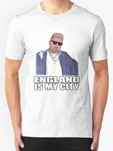 England Is My City - Nick Crompton Mens T Shirt White Cotton T-Shirt Fashion Free Shipping Short Sleeve Brand