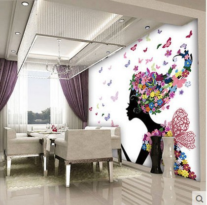 Tapiz para pared trendy reemplaza el papel tapiz con esta for Papel tapiz para paredes modernos