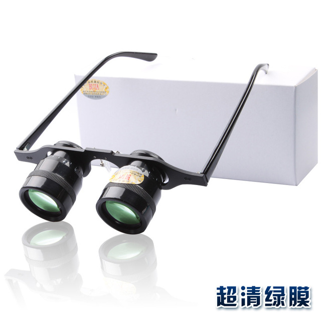 35aaac8176 10x34 Times Glasses Telescope   Fishing Telescope   Green Film Ultra-light    Non-Infrared Night Vision Support drop shipping
