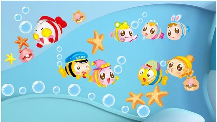 Merveilleux US $7.5 |nemo Sea Cartoon Cute Baby Room Bathroom Home Decoration Wall  Stickers Kids Furniture Bedroom Decor Wall Art Designer Decals  In Wall ...