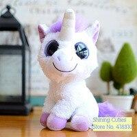 Limited Collection Rare Original Big Eye Purple USA Unicorn Cute Soft Animal Plush Toy Doll Birthday