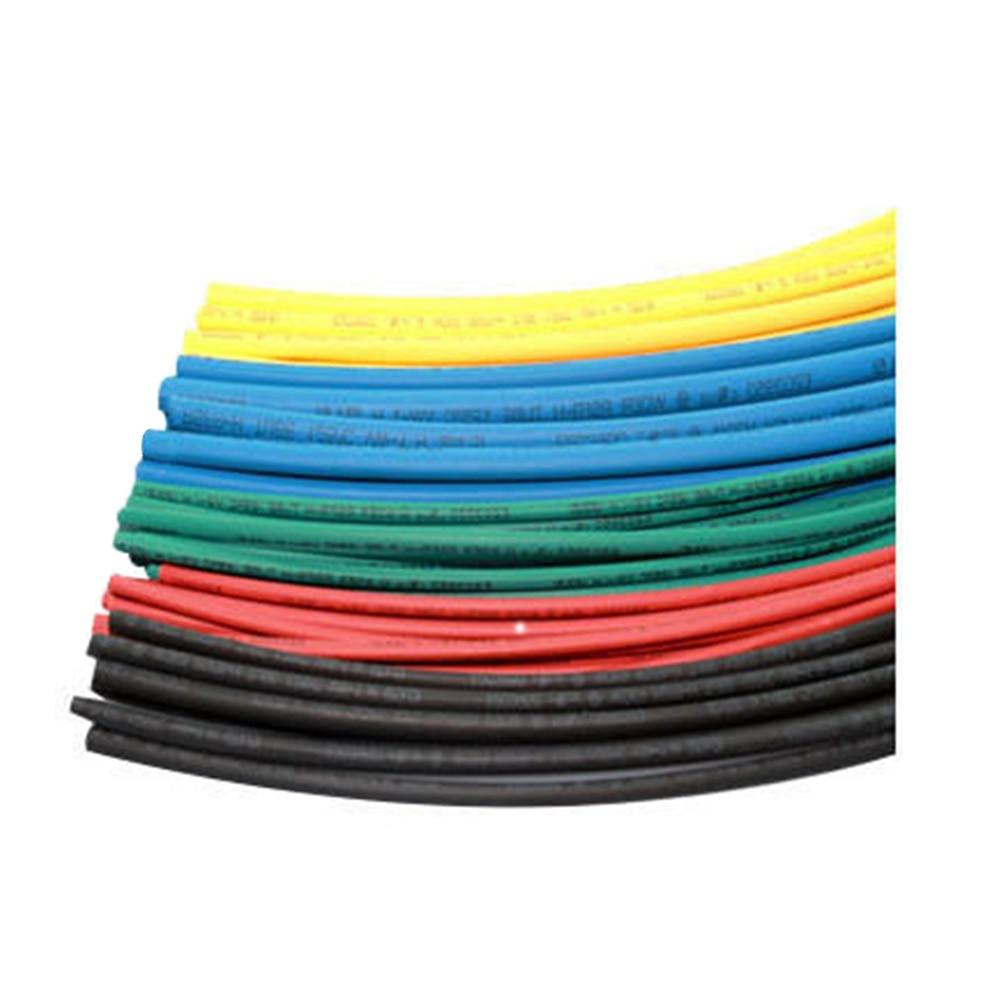 2018 FGHGF Hot Sale Factory price 1 Meter/lot 2:1 Black Diameter Heat Shrink Heatshrink Tubing Tube Sleeving Wrap Wire Sell ledron tubing 2 black