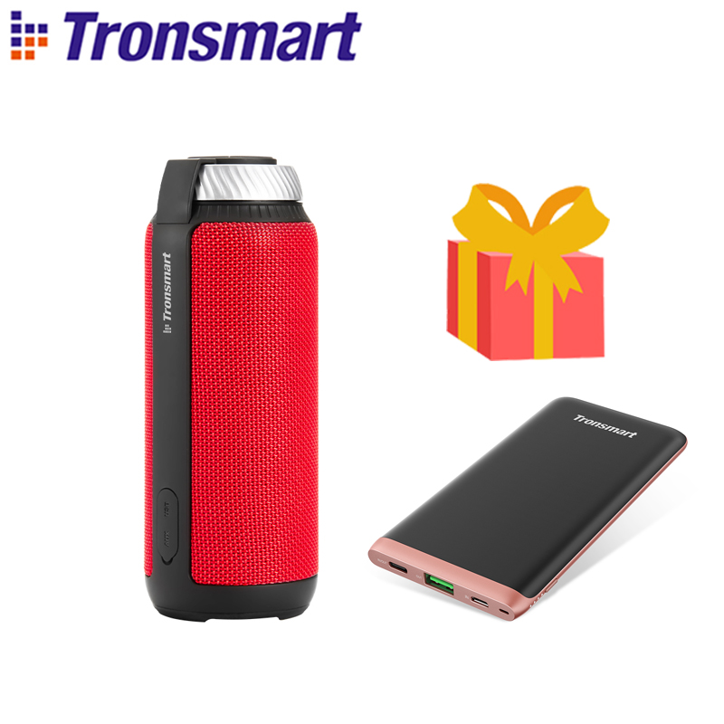 Shipping from Russian Tronsmart T6 Bluetooth Speaker Portable Speaker 25W Columns Subwoofer with Deep Bass