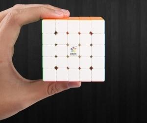 Image 5 - 新オリジナル渝信ちょっとした魔法5 × 5 × 5 m磁気キューブ62.5ミリメートルプロzhisheng 5 × 5スピードキューブ教育玩具子供のため