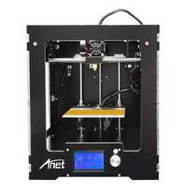 2017 высокое качество Анет A3 полный акрил Собранный 3D принтер с алюминиевой экструдер обновлен материнская плата 10 м нити 16 ГБ Бесплатная