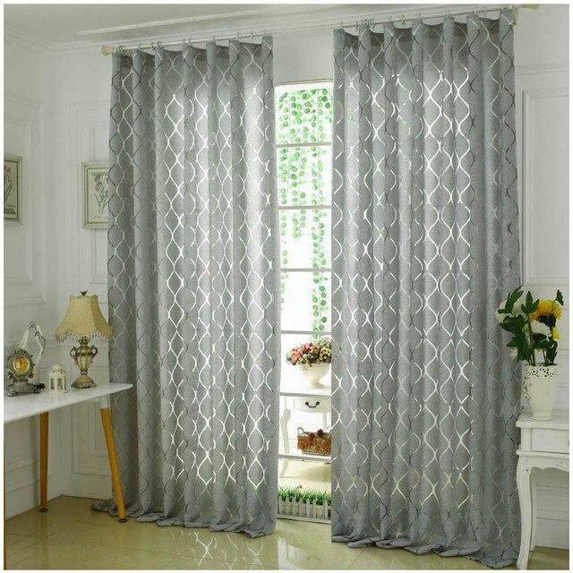 aliexpress.com : acquista (2 colori) decorative moderne tende ... - Tende Soggiorno 2014 2