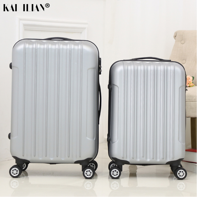 20/24/28 Inch ABS+PC Suitcase On Wheels Travel Spinner Luggage Trolley Bag Lady Cabin Carry-ons Luggage Men Hardside Suitcase