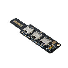 Carte de Test 3 en 1 universelle Compatible IP pour iPhone Android Samsung Xiaomi Huawei outil de Test de Signal téléphone portable carte de Test SIM(China)