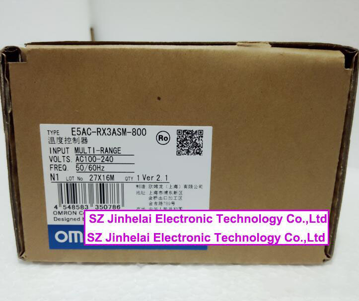 E5AC-RX3ASM-800 New and original OMRON DIGITAL CONTROLLER AC100-240V (Can replace E5AZ-R3T)