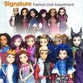 Descendentes de moda boneca coleção mal evie jane audrey lonnie maléfica ben jay carlos dolls figura toys meninas crianças presentes