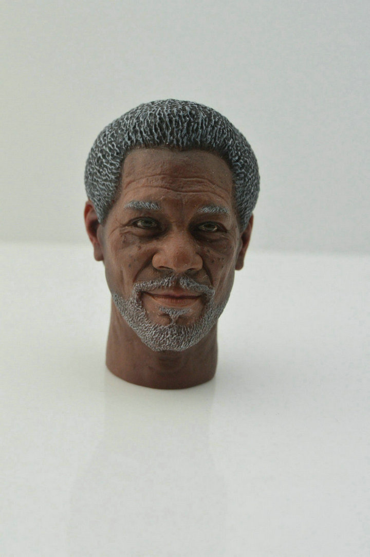 DS TOYS 1//6 Wayne Company CEO Weapons Expert Morgan Freeman Figure 12/'/' Male Toy