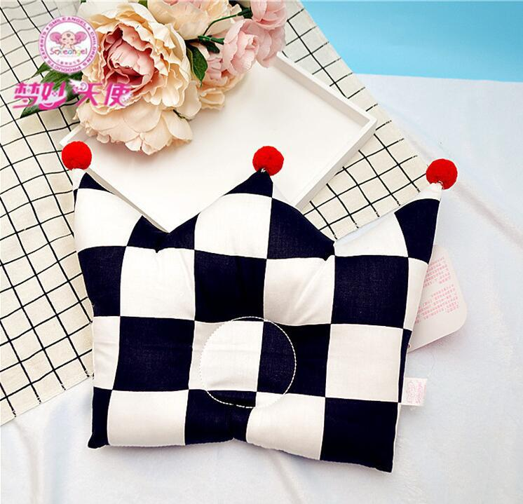 Shaping Pillow Baby Newborn Cute Backrest Cushion 0-1 Years Old Anti-head Correction Pillow Bedroom Bedding Room Decoration 7