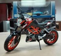 JOYCITY 1/12 Schaal Motorbike Toys KTM DUKE 200 2014 Diecast Metaal Motorcycle Model Toy Voor Gift/Collectie/Kids