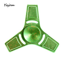 Free for shipping Hand Spinner Fidget Copper Ball Desk Focus Toy EDC For Kids/Adults New High Quality May 17