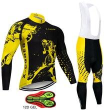 X CQREG Marke Anti Uv Radfahren Jersey Set Atmungs Lange Hülse Bike Radfahren Kleidung Berg Fahrrad Tragen Radfahren Kleidung Set