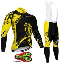 X CQREG marca anti uv ciclismo camisa conjunto, respirável manga comprida bicicleta roupas de ciclismo mountain bike roupas de ciclismo conjunto