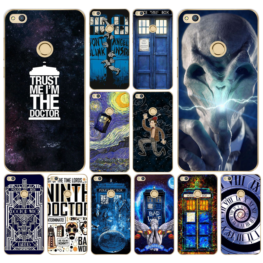 Half-wrapped Case 249fg Tardis Box Doctor Who Soft Silicone Tpu Cover Case For Huawei P20 Lite Mate 20 Lite