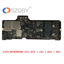 Laptop Mother board A1534 Logic board For MacBook 12′ MF855 8G 1.1Ghz 1.2Ghz 1.3Ghz Early 2015 2016