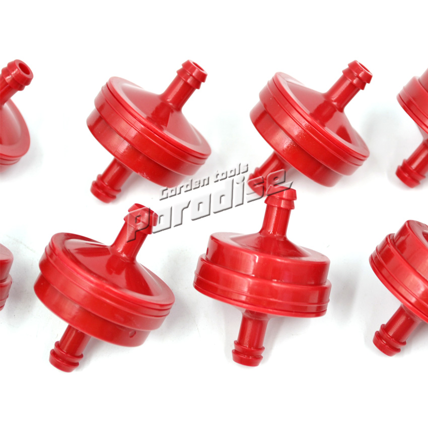 Red B&S Fuel Filters for 168F Engine GX160 Generator Water Pump Replacement Parts 5018B 5018H PT4265 LG 298090S New  цены
