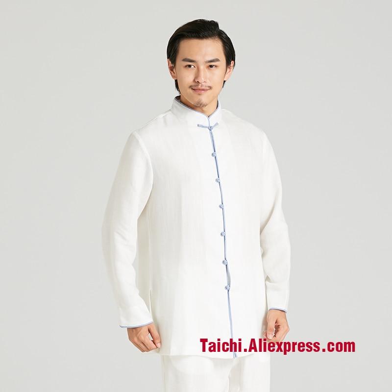 Top Grade Line Martial Art Tai Chi Unform Wudang Taiji Clothes   Men And Women  Performance Uniforms