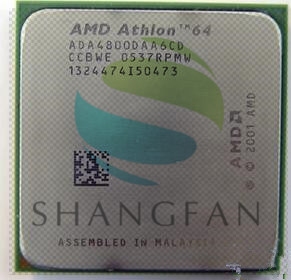 AMD Athlon X2 4800+ 2.4GHz Dual-Core CPU Processor X2 4800+ ADA4800DAA6CD Socket 939PIN процессор amd athlon ii x2 340 fm2 ad340xoka23hj 3 2 1mb oem