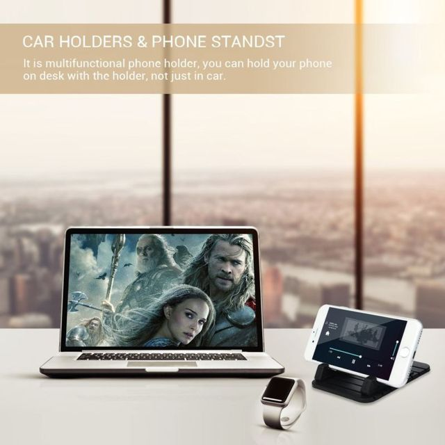 Car Silicone Dash Pad Mat Mobile Phone Holder Car Holder Stand Cradle Dock Anti-Slip Stand Sticky Pad For iPhone X 8 6/6S/7Plus