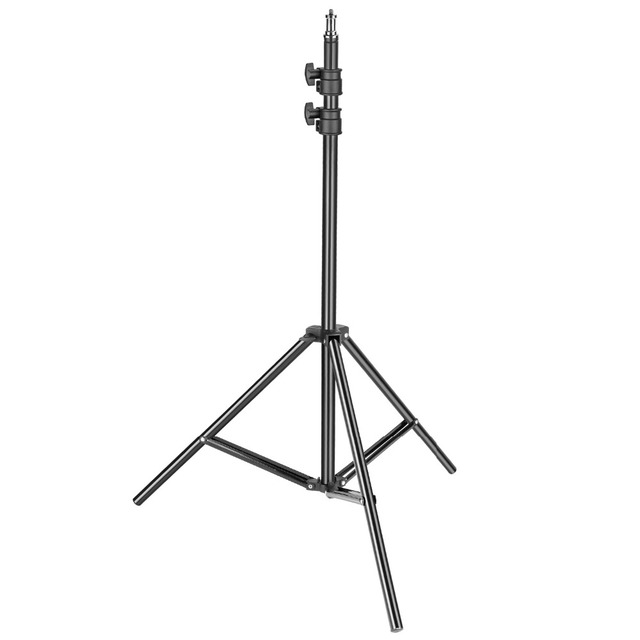 Neewer Heavy Duty Light Stand 3-6.5 feet/92-200cm Adjustable Photographic Sturdy
