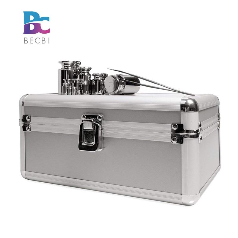 BECBI 1 mg-200g poids M1 calibrage poids ensemble acier inoxydable chromage poids ensemble précision gramme échelle Calibracion Peso