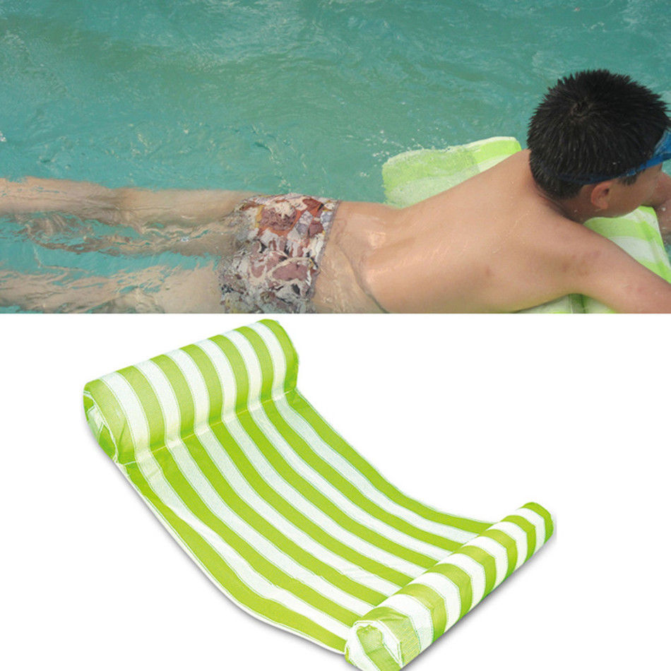 bed swimming lounge uk itm lounger water summer pool float floating hammock chair inflatable