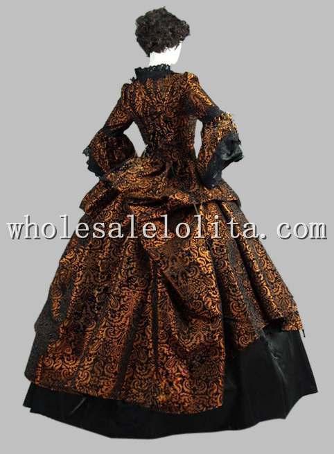 Marie De Soirée Mariée Bal Robe Antoinette Victorienne Multi Époque qIwIFZ