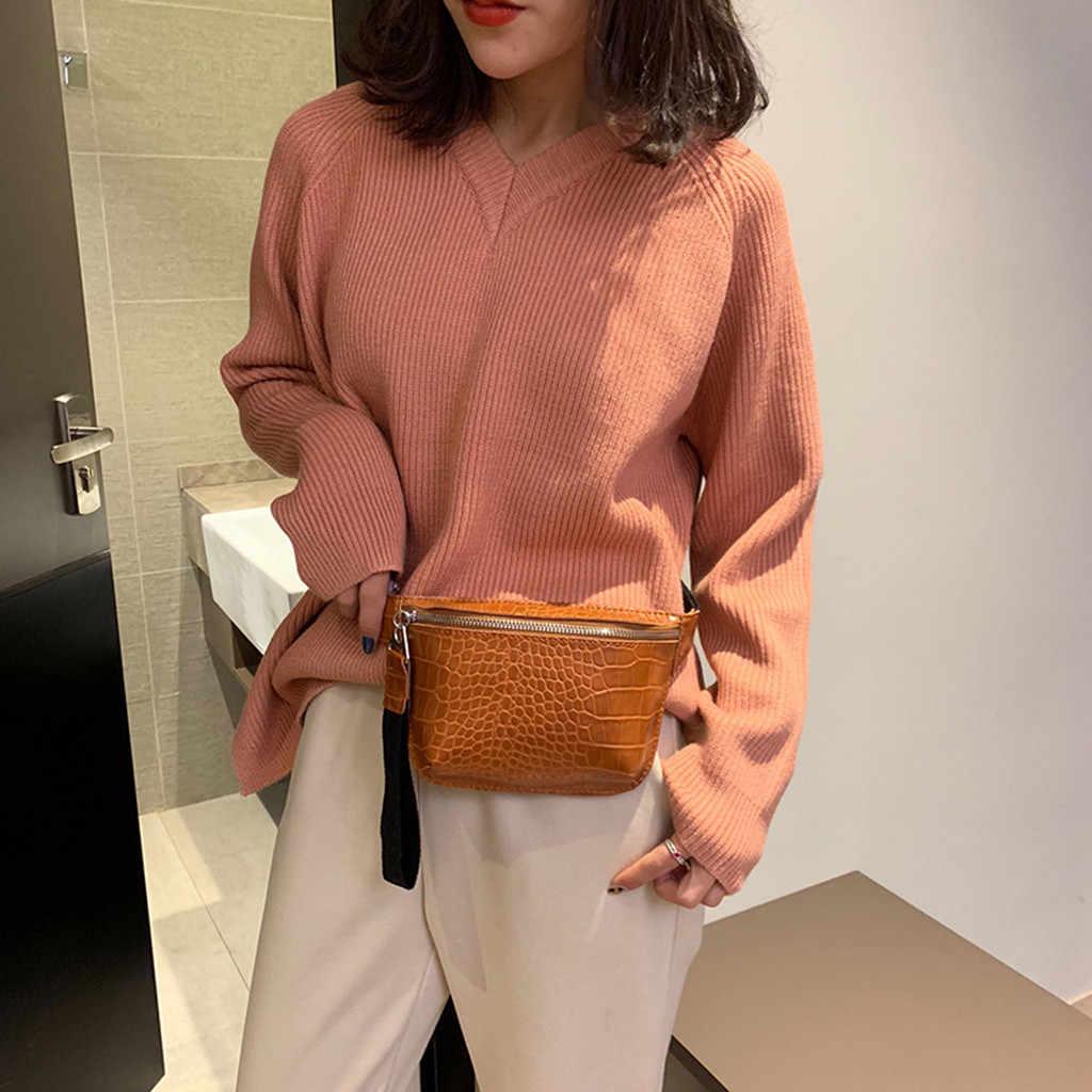 女性のバッグワニ革多色胸ファッション高品質ハンドバッグ嚢 banane ファム腹女性のためファニーパック