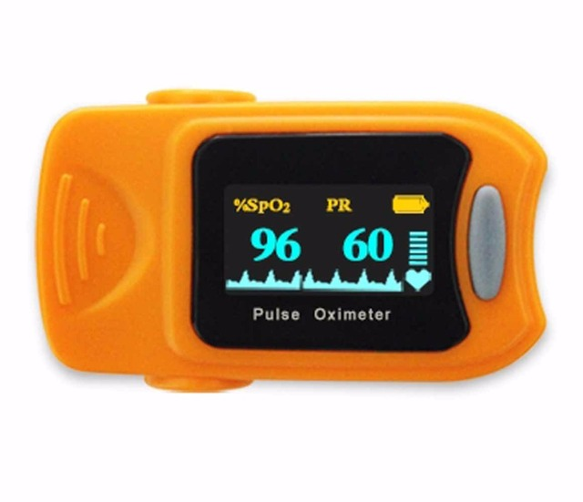 Health Care CE Fingertip Pulse Oximeter OLED Display HOT Sale Free Shipping