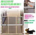 Solid wood quick install ultra gate no need hole-digging fashion baby child pet safety gate 67~106cm no need extension