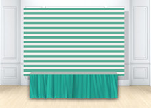 HUAYI mint green stripes backdrop Newborn photo Background baby boy baby shower birthday party decor backdrop photocall w-1855(China)