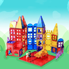 New Color Window Magnetic Piece Loose Building Block Variety Childrens Educational Toys Blocks
