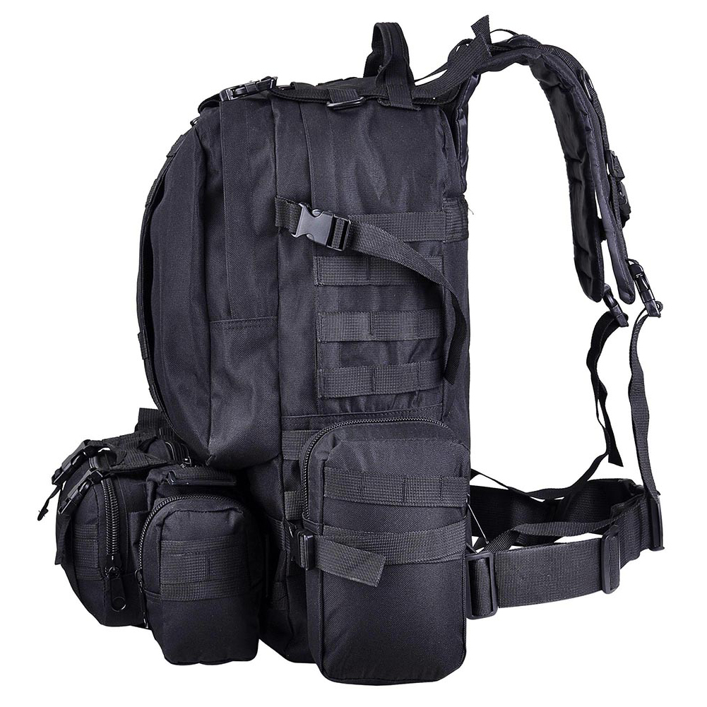 55L sac à dos tactique grande capacité chasse en plein air sac Camping militaire Trekking Oxford tissu Molle sac à dos Sport pratique