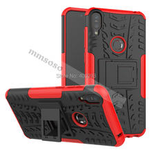 Cases for ASUS Zenfone Max Pro M1 ZB602KL ZB 602KL X00TD TPU & PC Dual Armor Capa Silicone Cover for ASUS Zenfone Max Pro M1(China)