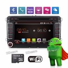 3G de Cuatro Núcleos 2 din Android 6.0 Coches reproductor de DVD para VW Volkswagen GOLF 5 Golf 6 POLO PASSAT CC JETTA TIGUAN TOURAN SKODA GPS