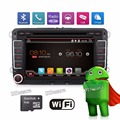 3G Quad Core 2 din Android Car DVD player for VW Volkswagen GOLF 5 Golf 6 POLO PASSAT SKODA CC JETTA TIGUAN TOURAN GPS