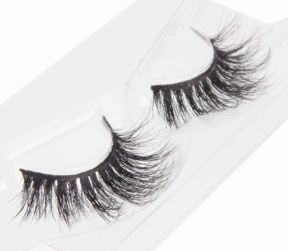 BEAUTY7 10Pairs Strip Lashes Volume Lashes Makeup False Eyelash 3D Mink Eyelash Handmade Natural Long Lasting Eyelash Extension