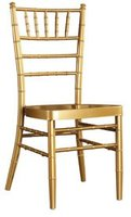 LUYISI610B Aluminum Chiavari Chair Light In Weight Used Indoor Outdoor Easy To Carry And Storage Removable