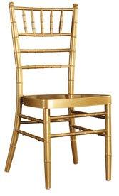 100% Aluminum Chiavari Wedding Chair