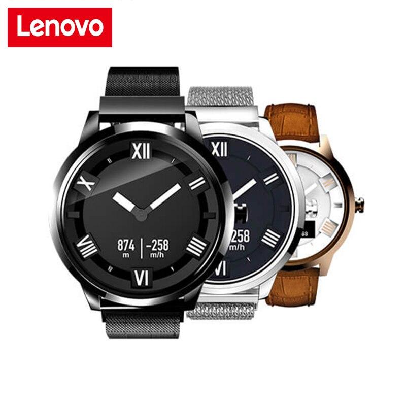 Lenovo Montre X Plus Bluetooth Étanche Smartwatch Geste Photographie 8ATM Étanche Sommeil Moniteur de Fréquence Cardiaque Pour IOS Android