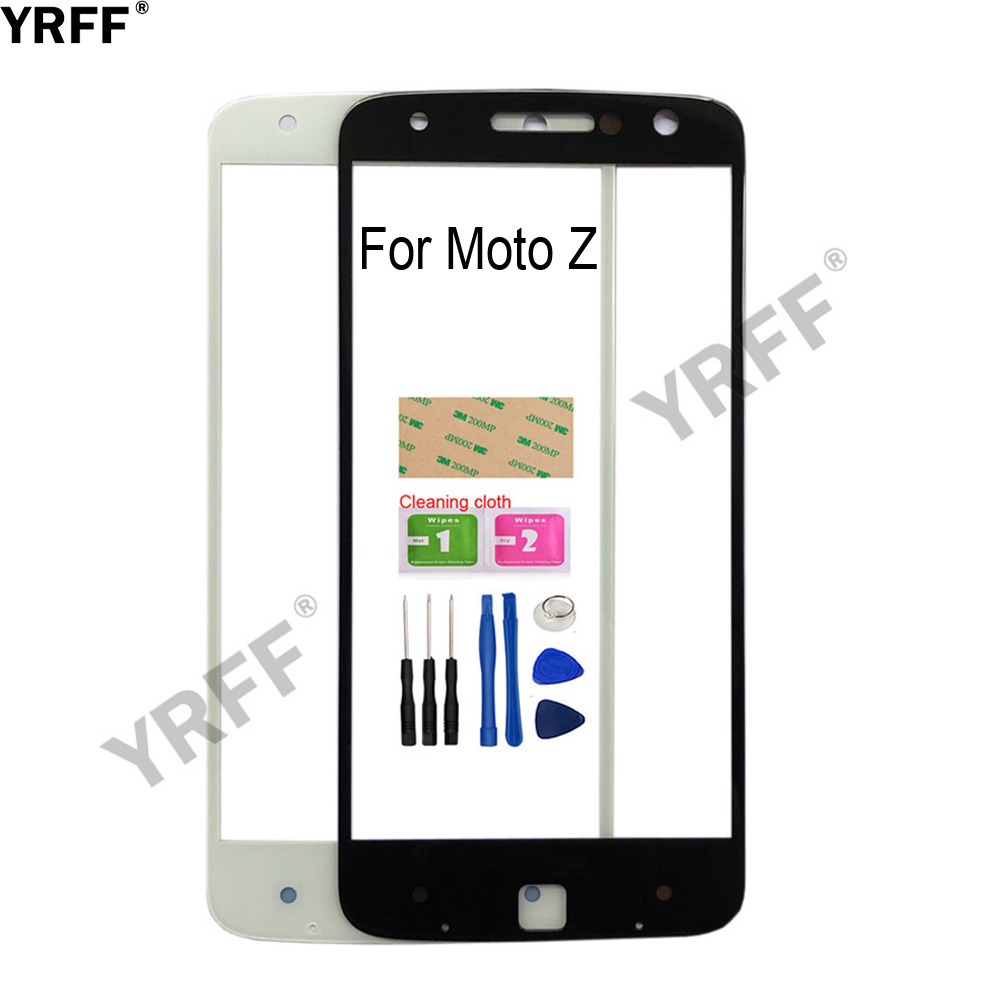5.5'' For Motorola Moto Z Play <font><b>XT1635</b></font> Touch <font><b>Screen</b></font> Outer Glass For Motorola Moto Z XT1650-03 Front Glass Panel Replacement image